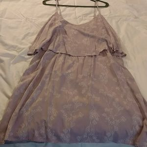 Light purple/lilac dress with dainty white floral